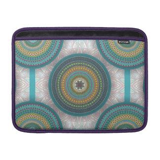Capa De MacBook Teste padrão floral étnico abstrato colorido da