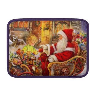 Capa De MacBook Trenó do papai noel - ilustração de Papai Noel