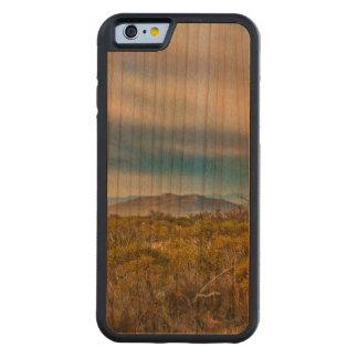 Capa De Madeira Cerejeira Bumper Para iPhone 6 Cena Patagonian da paisagem, Santa Cruz, Argentina