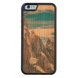 Capa De Madeira Cerejeira Bumper Para iPhone 6 Cerro Torre Parque Nacional Los Glaciares