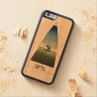 Capa De Madeira Cerejeira Bumper Para iPhone 6 Desconecte a caixa de madeira