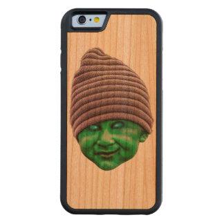 Capa De Madeira Cerejeira Bumper Para iPhone 6 Golbin mau