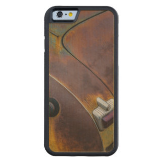 Capa De Madeira De Bordo Bumper Para iPhone 6 A beleza da textura de um carro vintage