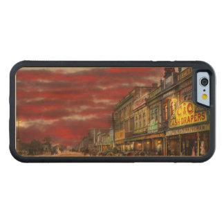 Capa De Madeira De Bordo Bumper Para iPhone 6 Cidade - NZ - o distrito 1908 da compra