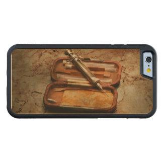 Capa De Madeira De Bordo Bumper Para iPhone 6 Doutor - a seringa Hypodermic