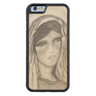 Capa De Madeira De Bordo Bumper Para iPhone 6 Grito de Mary