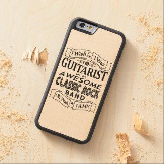 Capa De Madeira De Bordo Bumper Para iPhone 6 Grupo de rock clássico impressionante do
