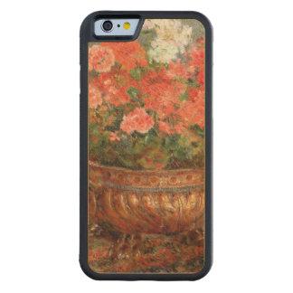 Capa De Madeira De Bordo Bumper Para iPhone 6 Pierre gerânio de Renoir um   em uma bacia de