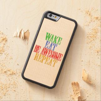 Capa De Madeira De Bordo Bumper Para iPhone 6 Seja impressionante!