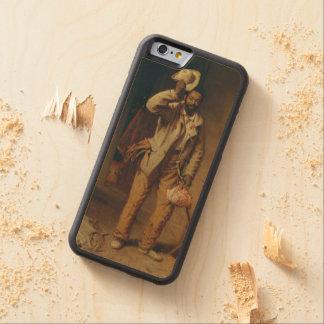Capa De Madeira De Bordo Bumper Para iPhone 6 Um bocado da história da guerra por T.W. Madeira