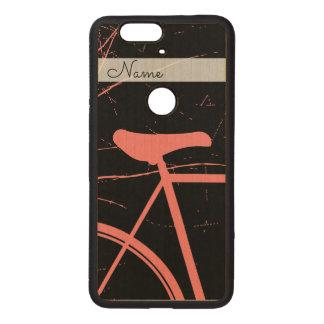 Capa De Madeira Para Nexus 6P Bicicletas desportivas