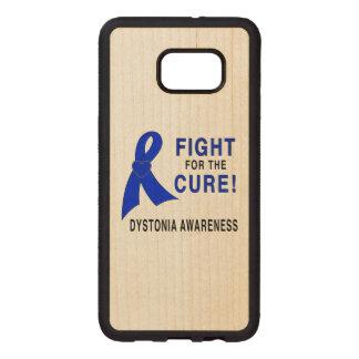 Capa De Madeira Para Samsung Galaxy S76 Edge Consciência da distonia: Luta para a cura!