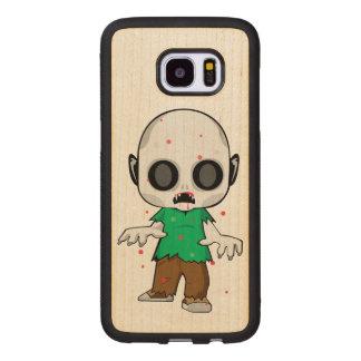 Capa De Madeira Para Samsung Galaxy S7 Edge Pirralho do zombi