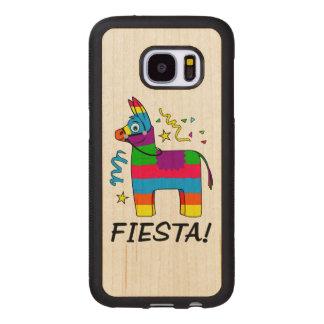 Capa De Madeira Para Samsung Galaxy S7 Festa do Pinata!