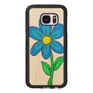 Capa De Madeira Para Samsung Galaxy S7 Flor artística do primavera