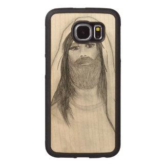 CAPA DE MADEIRA PARA TELEFONE JESUS QUE ESTÁ II