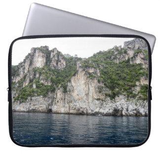 Capa De Notebook A bolsa de laptop da costa de Amalfi