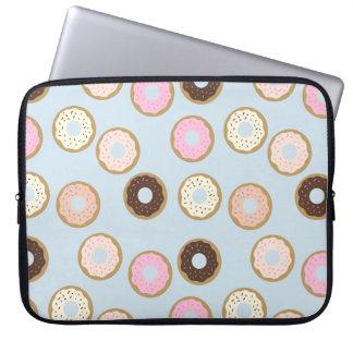 Capa De Notebook A bolsa de laptop da rosquinha