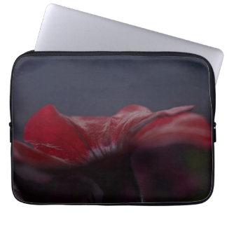 Capa De Notebook a bolsa de laptop do impressão da flor de 13