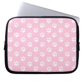 Capa De Notebook A bolsa de laptop do impressão da pata