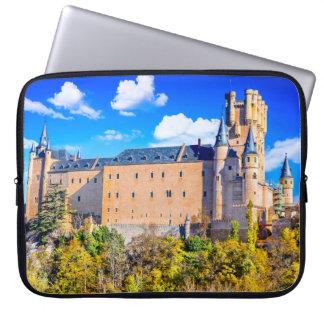 Capa De Notebook A bolsa de laptop do neopreno castelo de Segovia