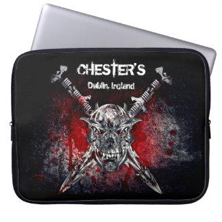 Capa De Notebook A bolsa de laptop do neopreno de Chester 15