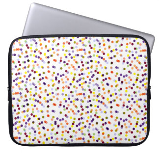Capa De Notebook A bolsa de laptop dos confetes - a bolsa de laptop