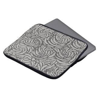 Capa De Notebook A bolsa de laptop - geometria orgânica