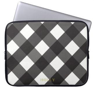 """Capa De Notebook A bolsa de laptop preta 15"""" do guingão"""