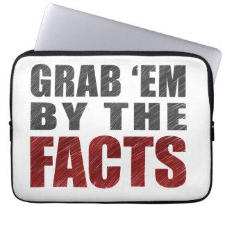 "Capa De Notebook Agarre-os pelos fatos 13"" a bolsa de laptop |"