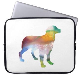 Capa De Notebook Arte do cão de Brittany