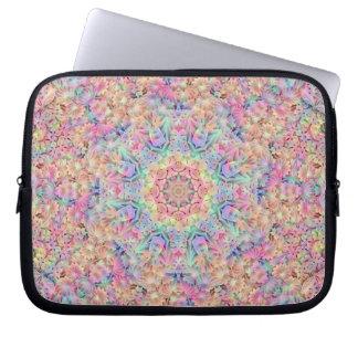 Capa De Notebook As bolsas de laptop do neopreno   do caleidoscópio