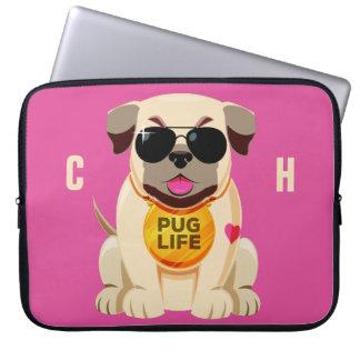 Capa De Notebook As bolsas de laptop feitas sob encomenda do nome &