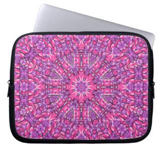Capa De Notebook As bolsas de laptop roxas cor-de-rosa do neopreno