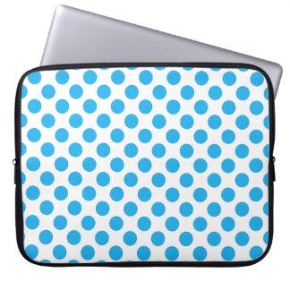 Capa De Notebook Bolinhas azuis