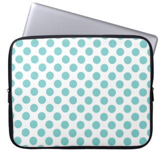 Capa De Notebook Bolinhas do Aqua