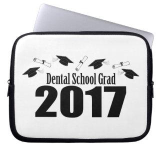 Capa De Notebook Bonés do formando 2017 da escola dental e diplomas