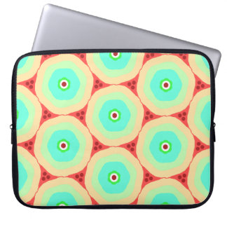 Capa De Notebook Círculos pastel retros nos círculos