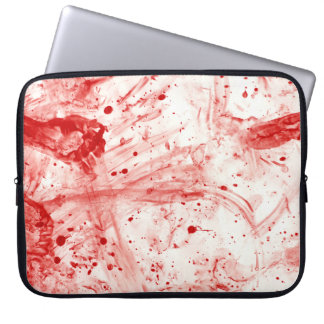 Capa De Notebook Confusão do Splatter do sangue