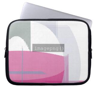 Capa De Notebook design 3 do código do imagepng () na bolsa de