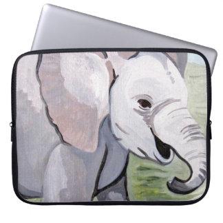 Capa De Notebook Espirrar sobre o elefante do bebê (arte de