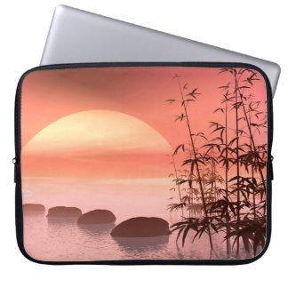 Capa De Notebook Etapas asiáticas ao sol - 3D rendem