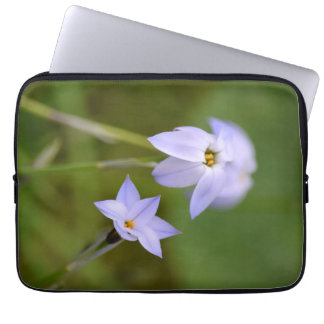 Capa De Notebook Flor branca