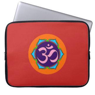 Capa De Notebook flor sagrado da ioga do zen da religião do budismo