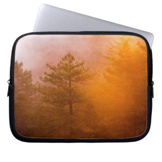 Capa De Notebook Floresta dourada da corriola