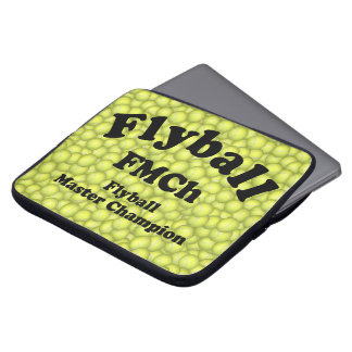 Capa De Notebook FMCh, campeão mestre de Flyball 15.000 pontos