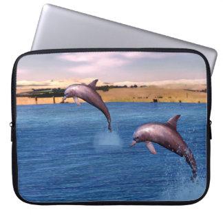 Capa De Notebook Golfinhos