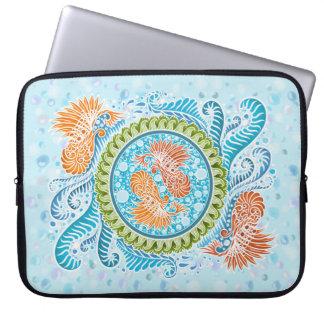 Capa De Notebook Harmonia dos mares, boho, hippie, boémio