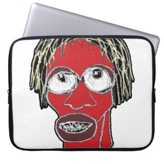 Capa De Notebook Ilustração grotesco da caricatura do homem