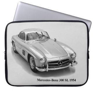 Capa De Notebook Imagem clássica dos carros para a bolsa de laptop